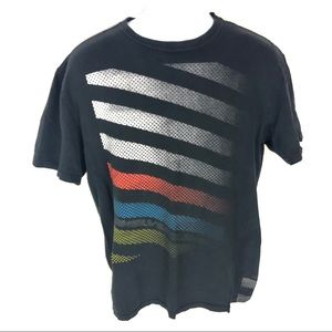 Quiksilver Mens Black T-shirt L